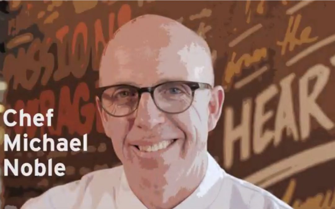 Work-Life Recharge 18 – A Conversation with Chef Michael Noble
