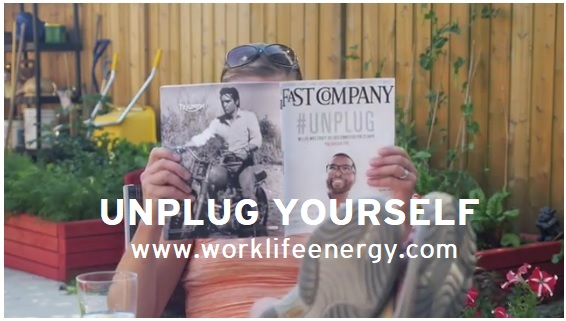 Work-Life Recharge 35 – UNPLUG YOURSELF