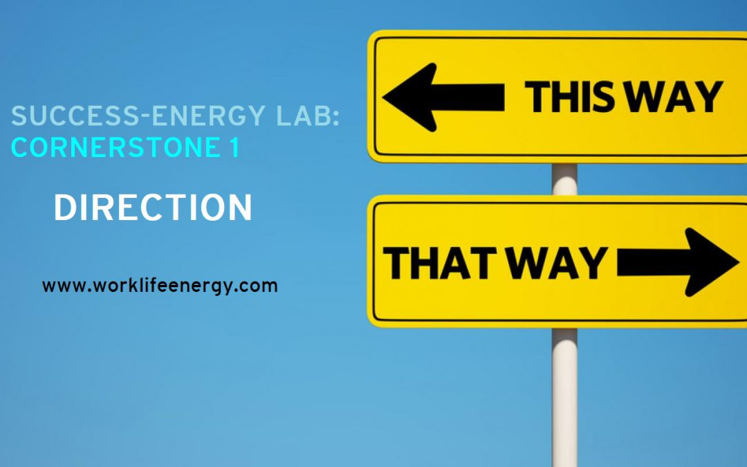 Success-Energy Lab: Cornerstone 1 – DIRECTION