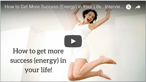 Sarah McVanel interviews me about Success-Energy