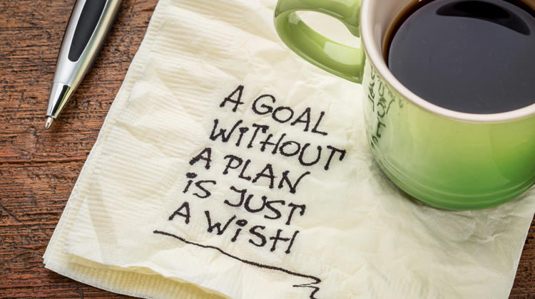 Write down your goals (this guide will help)!