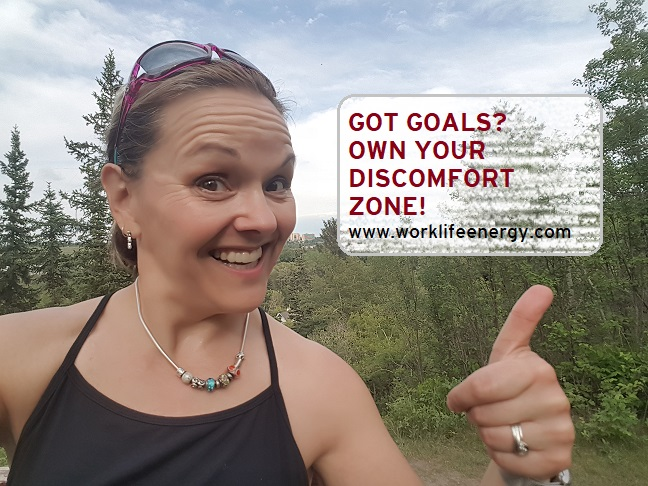 June Goal-Crusher Challenge: Own Your Discomfort Zone
