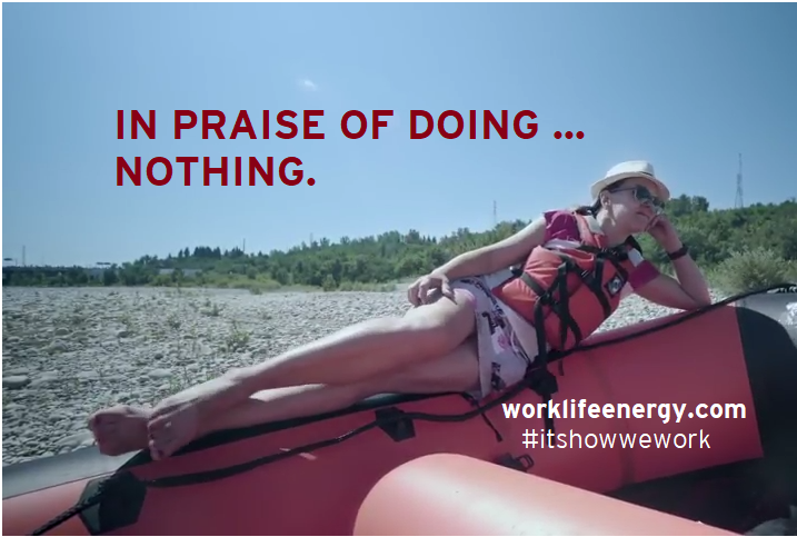 Success-Energy Lab: In Praise of Doing Nothing