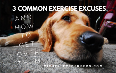 Three Common Exercise Excuses and How to Get Over Them