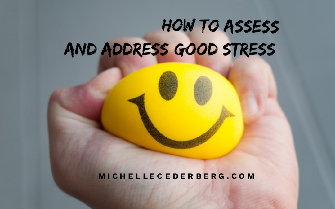 How to Assess and Address Good Stress