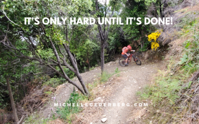 It's Only Hard Until It's Done!