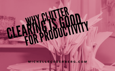 Why Clutter Clearing is Good for Productivity